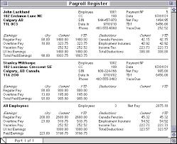 What Is A Payroll Register Payroll Register Rome Fontanacountryinn Com