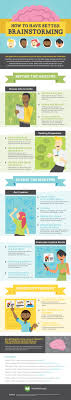 best images about mba tips and information how to have better brainstorming infographic