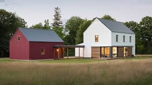 Modern Prefab Cabin New Line Of Prefab Homes Offer Traditional Styles With A Modern
