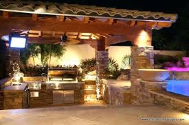 outdoor kitchen lighting ideas64 lighting