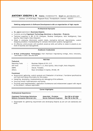 Information Technology Resumes Sample Resume Examples 2016 Cognos