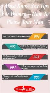 Tips for sex for women
