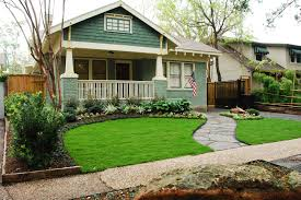 Front House Simple Landscape Design Driveway Small Yard Patio Front House Homes That Show Off