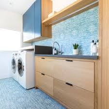Image Modern Dedicated Laundry Room Large Contemporary Singlewall Blue Floor Dedicated Laundry Room Idea In Houzz 75 Most Popular Laundry Room Design Ideas For 2019 Stylish Laundry