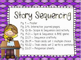 Reading Comprehension Scope And Sequence Chart Reading Comprehension Detectives Story Sequencing Saddle