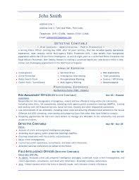 Undergraduate Resume Template Word Sample Resume Cover Letter Format