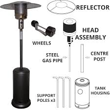 patio heater replacement parts