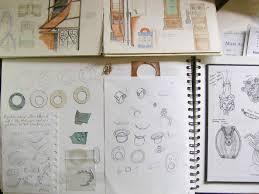 Sketchbook Design Ideas Jewellery Sketchbooks Design Drawings Inspirations The