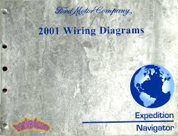 wiring diagrams shop manual service book ford expedition lincoln real factory manual complete wiring diagram book by ford lincoln for 2001 2002 expedition navigator book is in very good condition