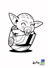 Would you happen to have the numbers for the colors? Baby Yoda Coloring Page Simple