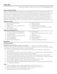 Software Integration Engineer Sample Resume Professional Tele Munications software Engineer Templates to 1