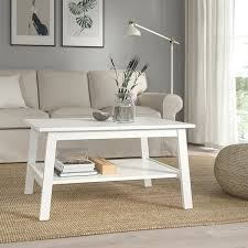 lunnarp coffee table white 353 8x215