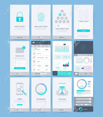 Ui Design Image Interface And Ui Design Elements Illustrations