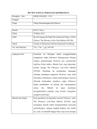 Download contoh review jurnal comments. Review Jurnal Psikologi Kepribadian
