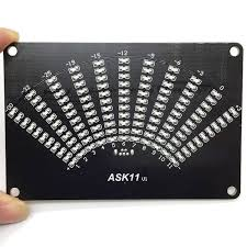 aliexpress com new diy ask11 vu table led spectrum display fan shaped pointer level light cubic kit from reliable kit kits suppliers on la si do
