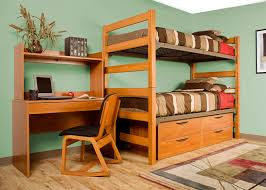 dorm room furniture greenfield series wild cherry bunk bed
