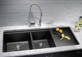 white kitchen sink with drainboard. I LOVE The Hidden/dropped Drain Board Blanco Silgranit Kitchen Sinks - Houston Westheimer Plumbing \u0026 Hardware White Sink With Drainboard S