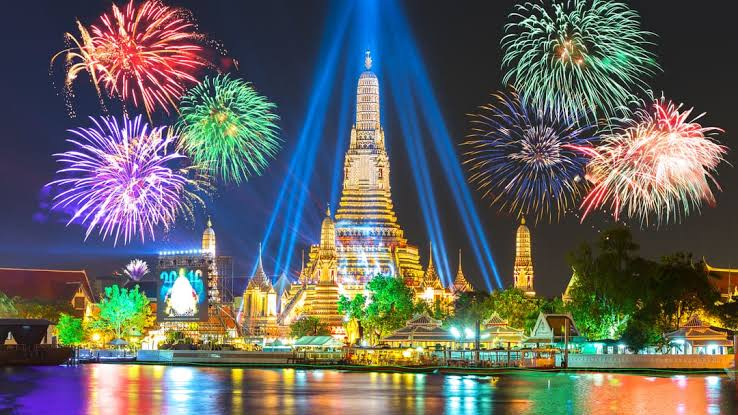 Things to do in Thailand- stay for new years