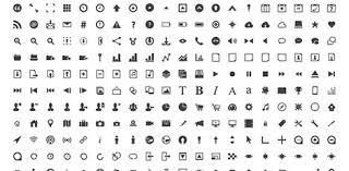 シンプルで分かりやすい絵文字ピクトグラムの新作フリーアイコン素材