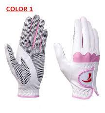 2019 New Golf Gloves Ladies Left Hand Soft Breathable Pure Sheepskin With Anti Slip Granules Golf Gloves Golf Ladies From Bestgolfsport 16 09