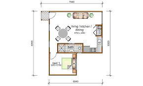bedroom granny flat designs floor plans