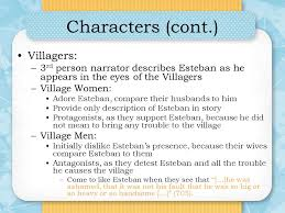 the handsomest drowned man in the world ppt video online  3 characters cont