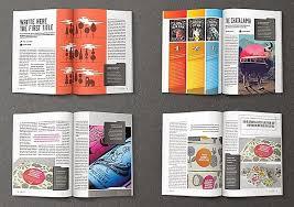Indesign Magazine Templates Free Magazine Template Indesign Wilkesworks