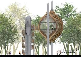 Tree House Architecture The Polish Treehouse By Pacific Environments