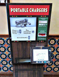 Charge On The Go Vending Machines Enchanting How To Charge Your Smart Phone Battery At Disneyland