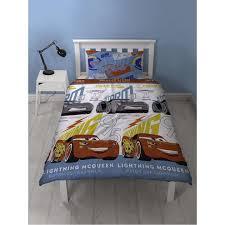 disney cars 3 lightning single duvet cover set polyester