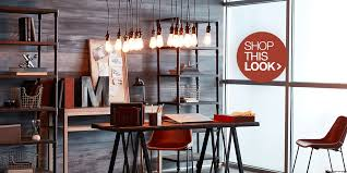 Industrial home office Houzz Industrial Home Office Ideas Overstockcom Gorgeous Home Office Decorating Ideas Overstockcom