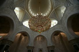 title chandelier at sheikh zayed grand mosque
