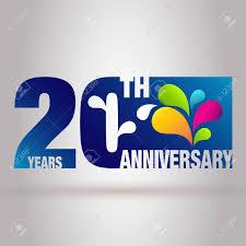 Anniversary Template 20th Anniversary Template Anniversary Emblem 20 Anniversary