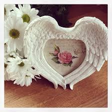 roman angel wings photoframe cream