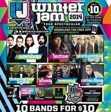 winter jam flyer 2018 lecrae tour dates concerts tickets songkick
