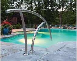 swimming pool rails in ground pool 24 best swimming pool ladders swimming pool hand rails by