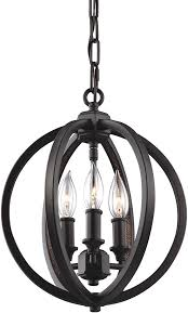 feiss f3059 3orb corinne oil rubbed bronze mini lighting chandelier loading zoom