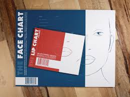 Textured Paper For Face Charts Face Lip Package