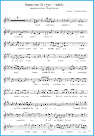 adele sheet music someone like you adele score and track sheet music free free
