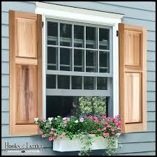 wooden shutters exterior uk wood diy window