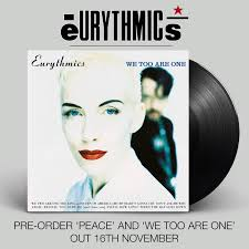 <b>Eurythmics</b> - '<b>We Too</b> Are One' and 'Peace' have been remastered ...