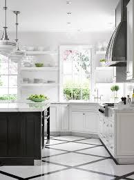 white kitchen tile floor. Ask Maria: Can I Combine Faux Hardwood Tile With My Oak Floors?   Maria White Kitchen Floor E