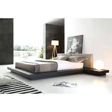 Grey Contemporary Bedroom Opal Modern Grey Platform Bed Contemporary Gray  And White Bedroom