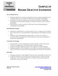 Purpose Of A Resume Resume Objective Statement The Purpose Of An Is Example In 14