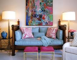 Pink Living Room Chair Apartment Room Blue Housing Bubble Rodney Johnson