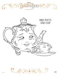 Small Picture 3 New Beauty and the Beast Printable Coloring Sheets Theresas