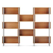 modern bookcases  shelves  modern shelving  blu dot