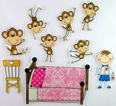 five little monkeys clipart 51 within no more monkeys jumping on the bed