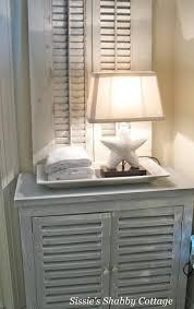shabby chic beach furniture. shabby beach cottage nightstand with starfish lamp chic furniture s