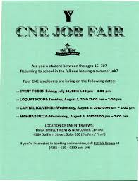 The Hiring Hotline Reminder Cne Job Fair Continues On Tuesday
